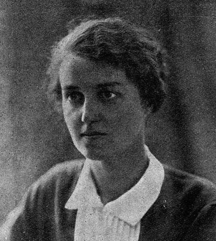 """Anatolia Hryniewiecka-Piotrowska, fot. z """"Kobieta współczesna"""", R. 3, nr 5, str. 8, 1929"""