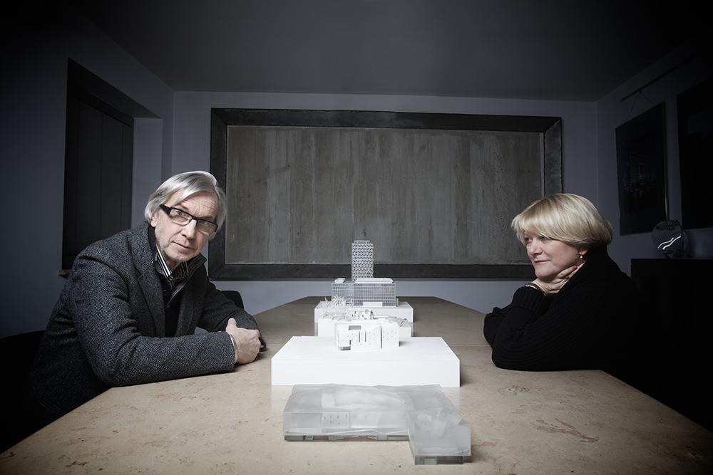 Ewa i Stefan Kuryłowicz, fot. dzięki uprzejmości APA Kuryłowicz & Associates