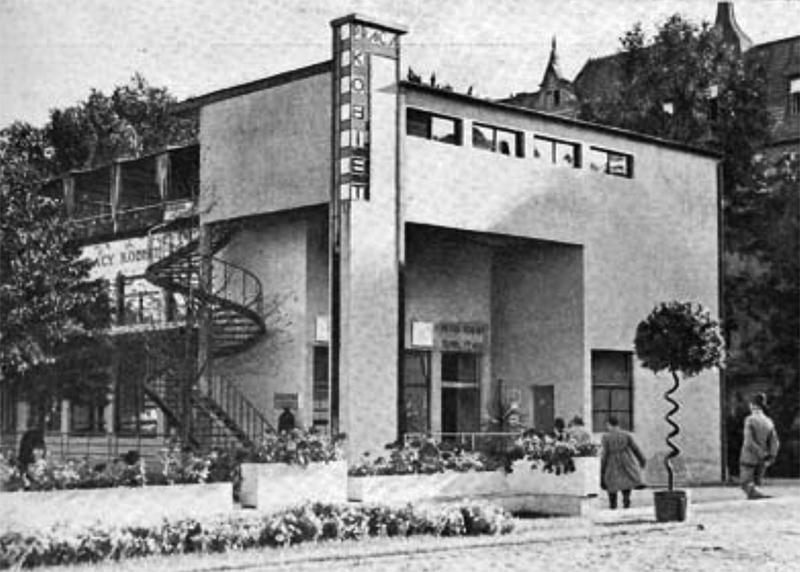 """Anatolia Hryniewicz-Piotrowska, Pawilon Pracy Kobiet, 1929, wg """"Architektura i Budownictwo"""", 1929, nr 11-12, fot. www.gdynia.pl"""