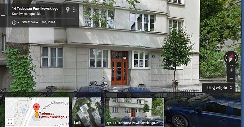 Диана Рейтер, доходный дом Элеоноры и Юзефа Эльснеров, ул. Павликовского, 16, Краков, 1937–39, фото: google.pl