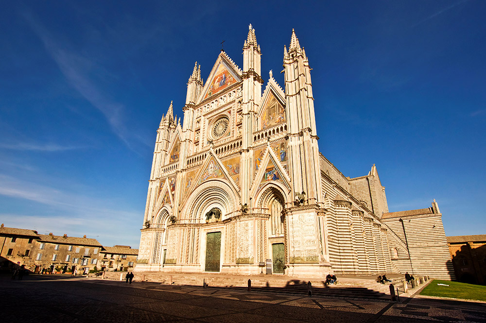 Orvieto Cathedral in Italy, photo: Mauro Flamini/REDA&CO/UIG/Getty Images