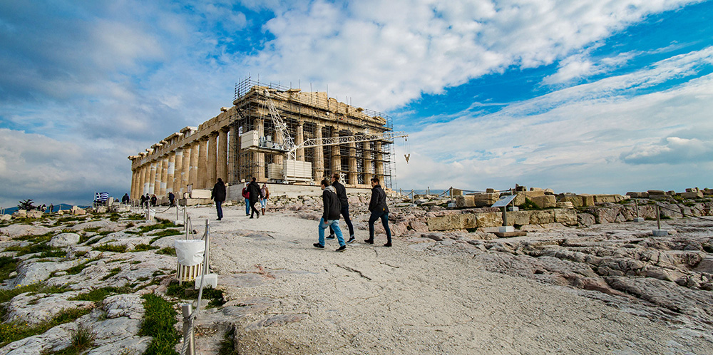 Acropolis, Athens, photo: Nicolas Economou/NurPhoto/Getty Images