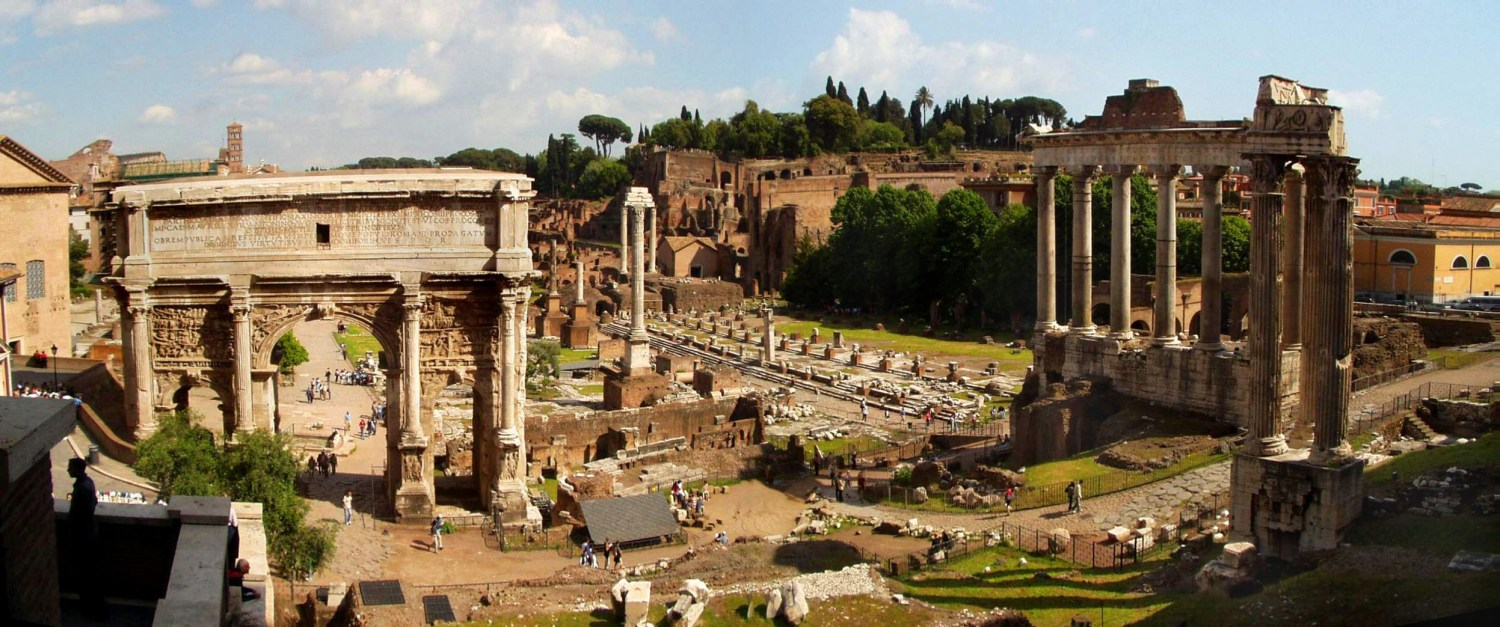 Forum Romanum, Rome, photo: Hans E C Johansson/wikipedia.org
