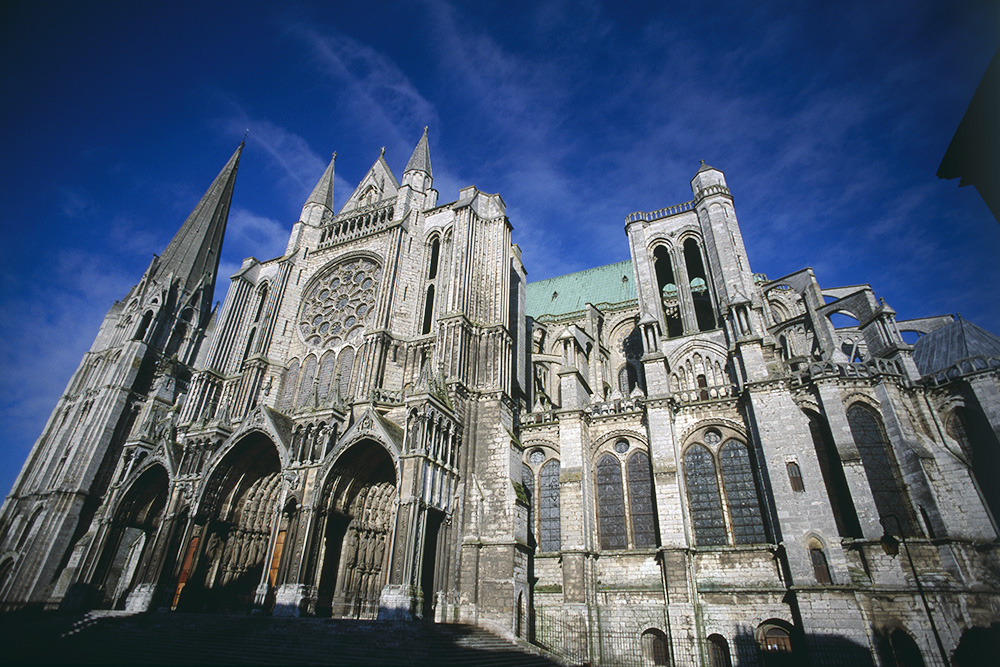 Cathedral of Our Lady of Chartres in France, photo: Philippe Giraud/Sygma/Getty Images