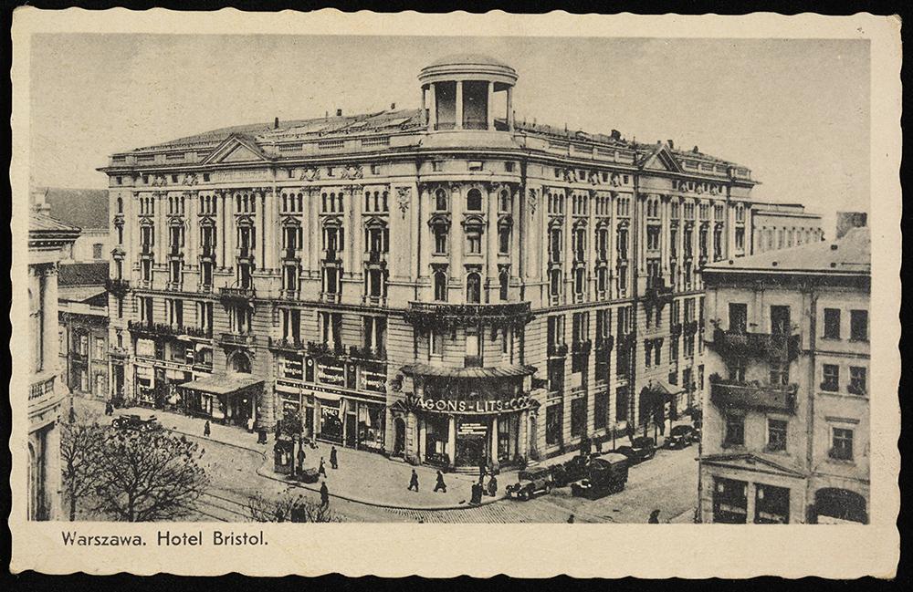 Отель «Бристоль» в Варшаве, 1901, фото: Национальная библиотека Polona