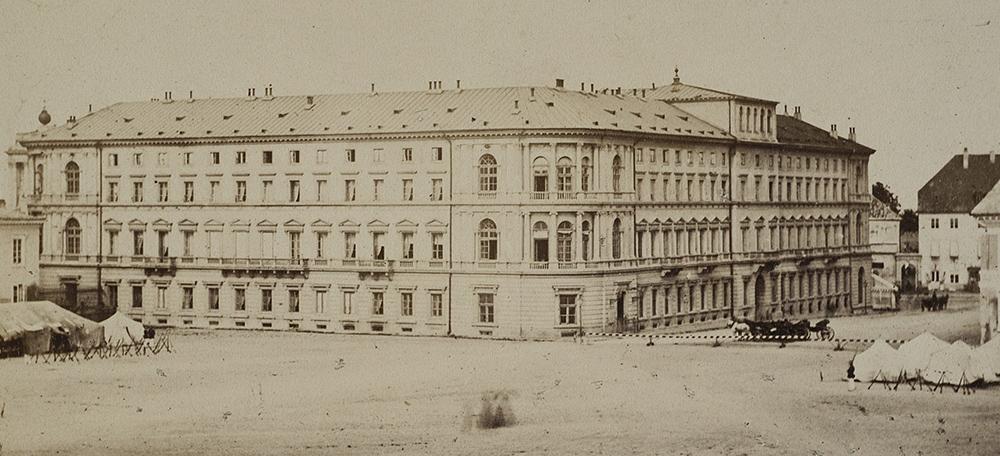 Отель «Европейский», 1862, фото: Кароль Бейер / Национальная библиотека Polona
