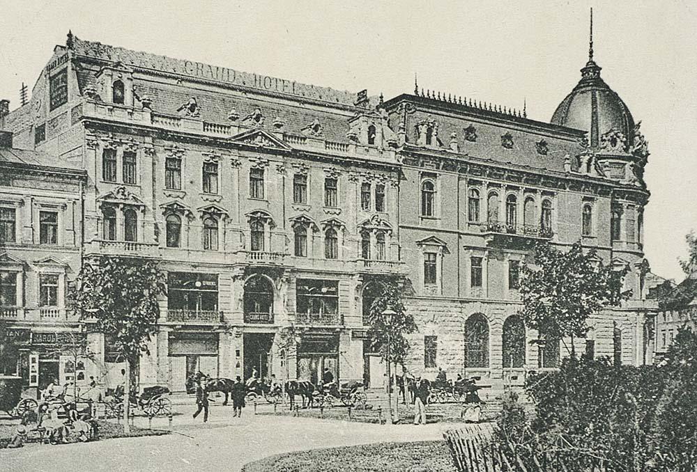 Гранд-отель в Лодзи, 1906, фото: Национальная библиотека Polona