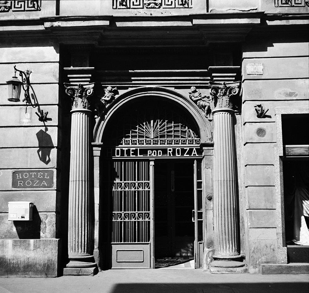 Отель «Под Розой» в Кракове, фото из коллекции Музея истории Кракова