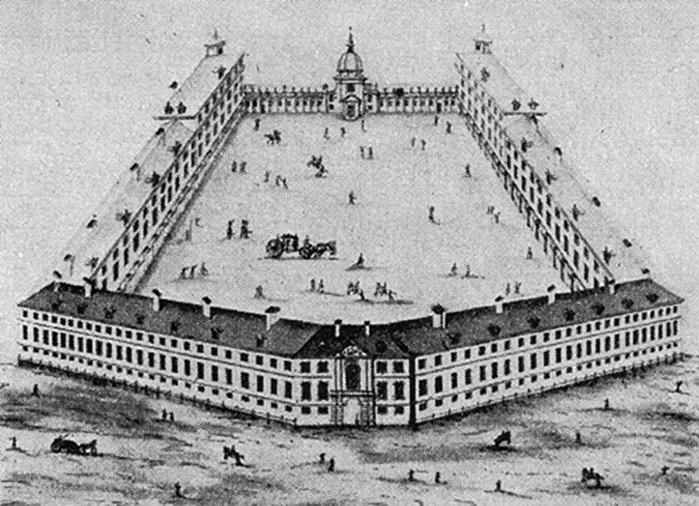 Марывиль, Варшава, 1733, фото: J. J. Feyge