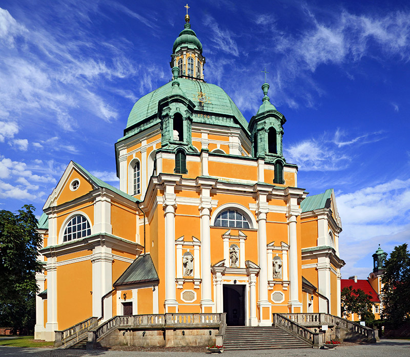 Basilica in Święta Góra (near Gostyń), photo: Marek Maruszak / Forum