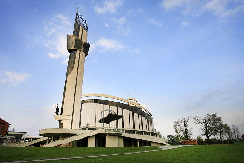 The basilica of Divine Mercy in Łagiewniki, photo:Jan Kucharzyk /East News