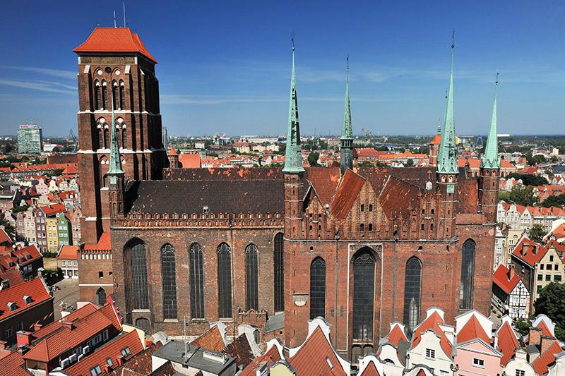 Kościół Mariacki w Gdańsku, fot. fot. Wojciech Stróżyk / Reporter