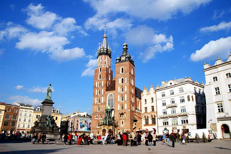 Kościół Mariacki w Krakowie, fot. Andrzej Rubis / Forum
