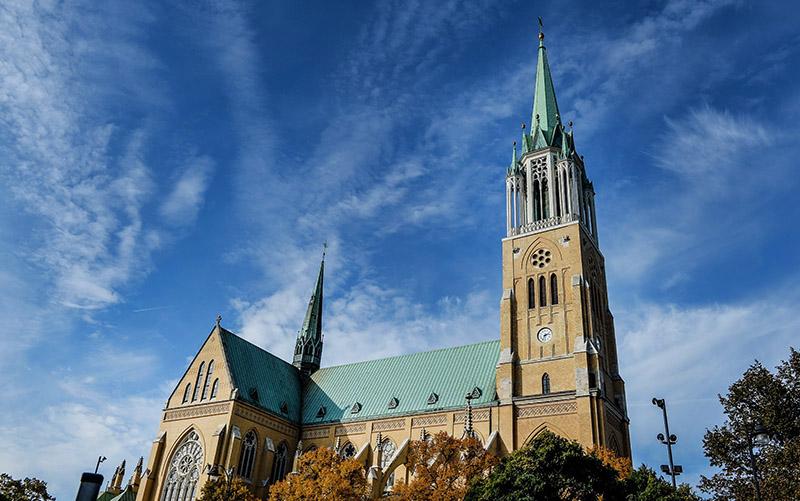 St. Stanisław Kostka cathedral in Łódź, photo: Gerard/Reporter