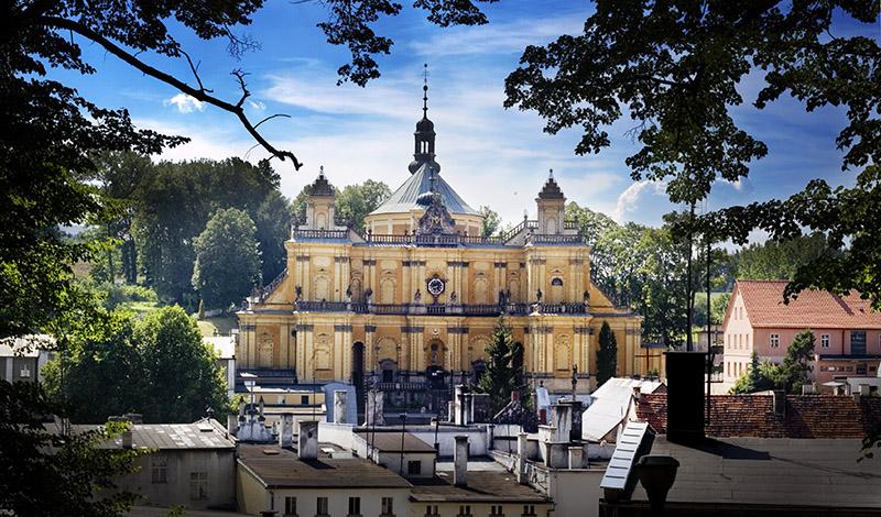 The Basilica of the Visitation of Blessed Virgin Mary, photo: Bartek Sadowski / Forum