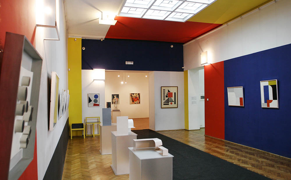 Sala Neoplastyczna w Muzeum Sztuki, fot. .Dariusz Kulesza/AG