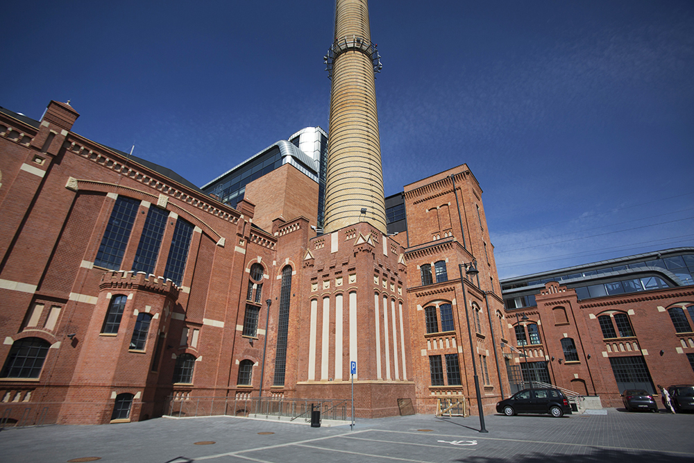 Revitalised buildings of the former power plant in Łódź (EC1), photo: Marian Zubrzycki / Forum