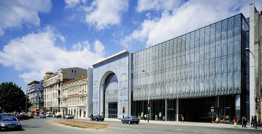 Łódź Philharmonic building, photo: Wojciech Kryński / Forum