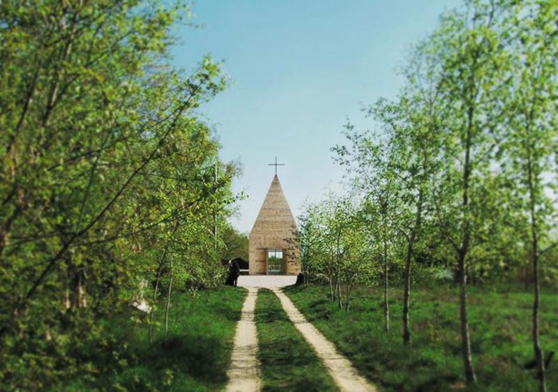 Костел Votum Aleksa в Тарнові. Фото: архітектурне бюро «Beton»