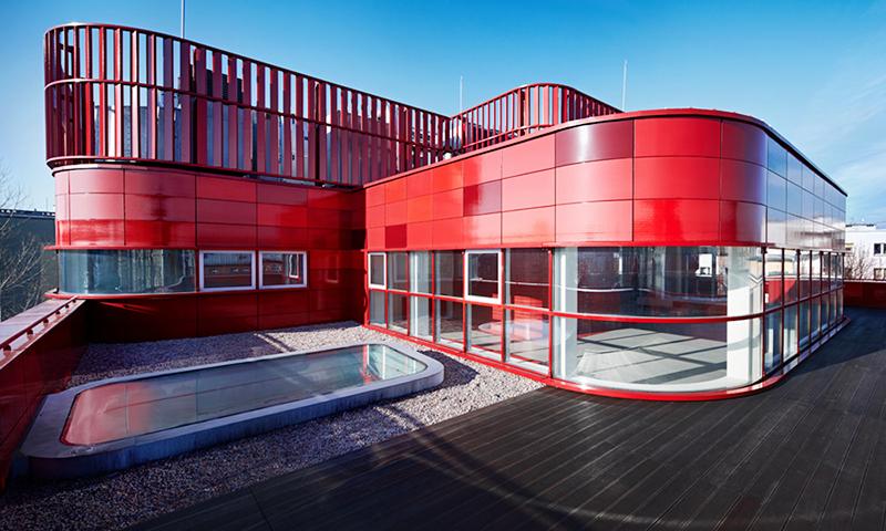 Raciborz Regional Blood Centre, design: FAAB Architekci , photo: courtesy of the studio / http://www.faab.pl