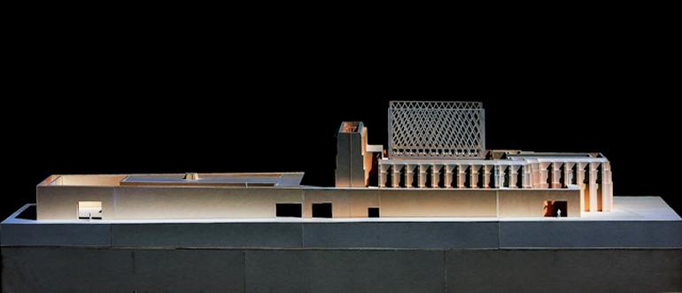 Makieta budynku Gdańskiego Teatru Szekspirowskiego, fot. materiały promocyjne
