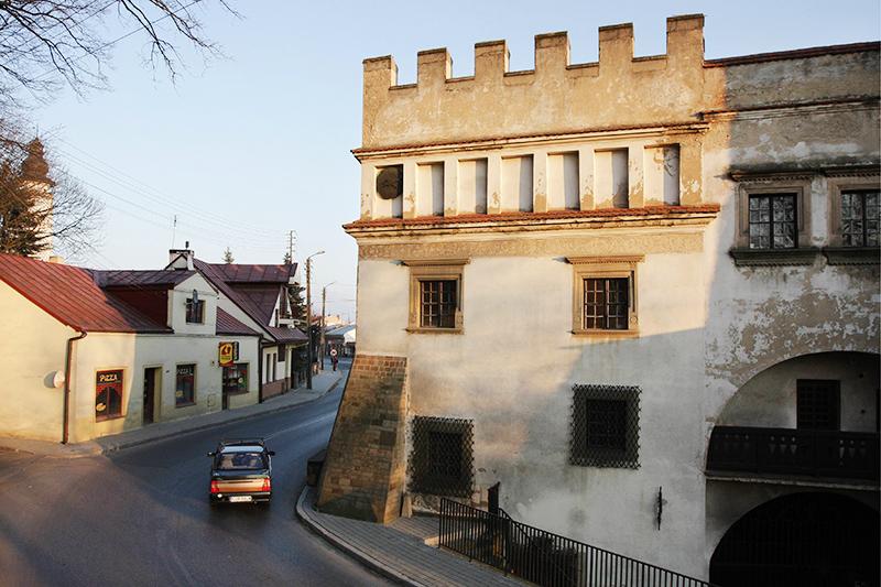 Biecz, Kamienica Barianów Rokickich z 1523  jest dzisiaj siedzibą Muzeum Ziemi Bieckiej, fot.  Franciszek Mazu / AG