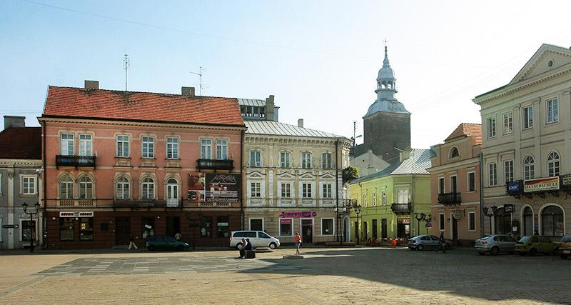 Piotrków Trybunalski , rynek, fot. Cezary Pecold / Reporter