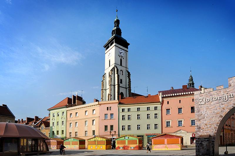 Starówka w  Złotoryi, fot. Bartlomiej Kudowicz / Forum