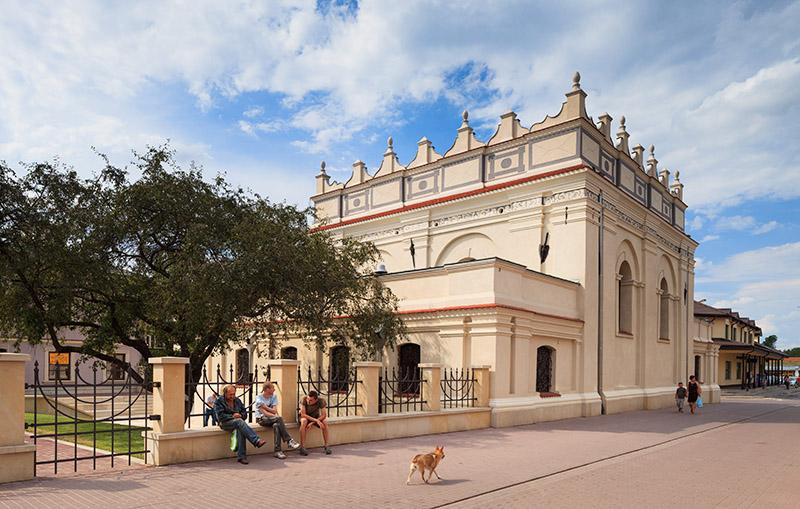 Synagogue in Zamość, photo: Adam Ławnik / East News