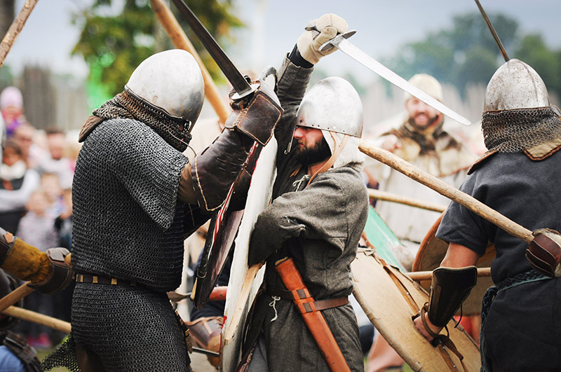 Фестиваль славян и викингов в Волине. Фото: Лукаш Вадоловский / AG