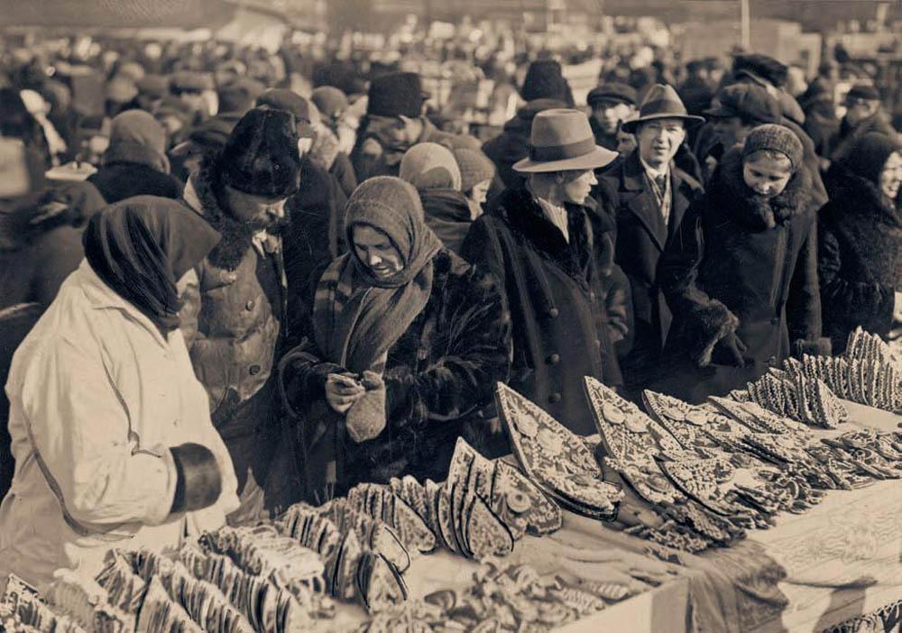 Kaziuki, fotografia z 1935 roku, autor nieznany