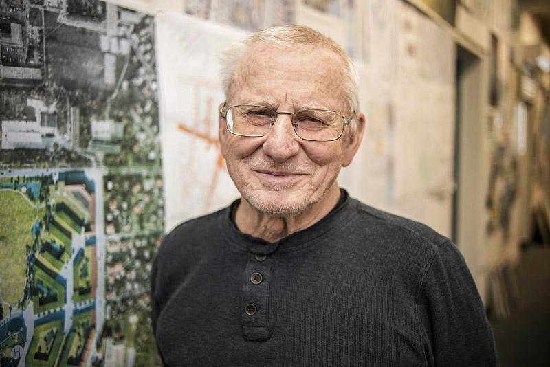 prof. Marek Budzyński, architekt i urbanista, 2015, fot. Franciszek Mazur/Agencja Gazeta