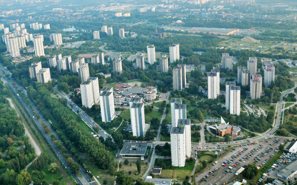 Osiedle 1000-lecia na granicy Katowic i Chorzowa, fot. Tomasz Krufczyk / Forum
