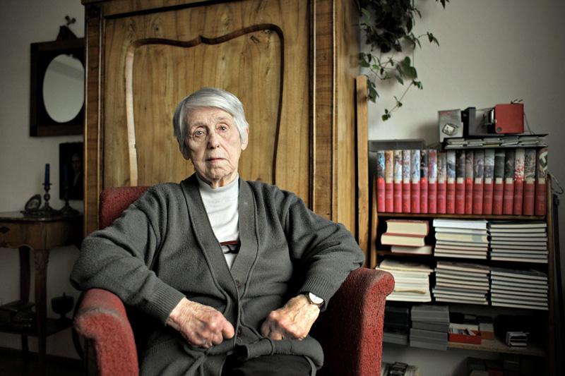 Maria Piechotka, 2012, fot. Krzysztof Żuczkowski/Forum