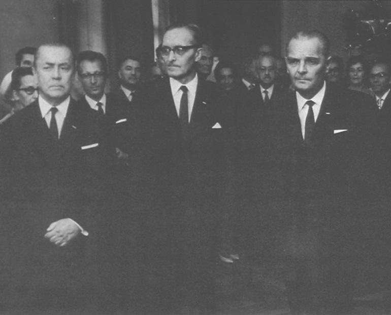 """""""Warszawskie Tygrysy"""", czyli Jerzy Mokrzyński, Wacław Kłyszewski i Eugeniusz Wierzbicki, fot. archiwum SARP"""