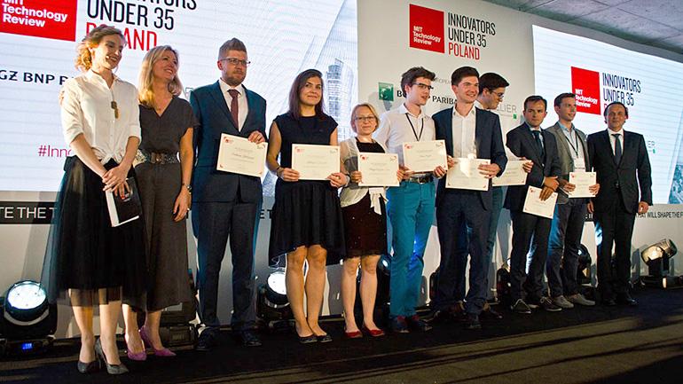 The award ceremony for MIT's Innovators Under 35, photo: courtesy of Petros Psyllos