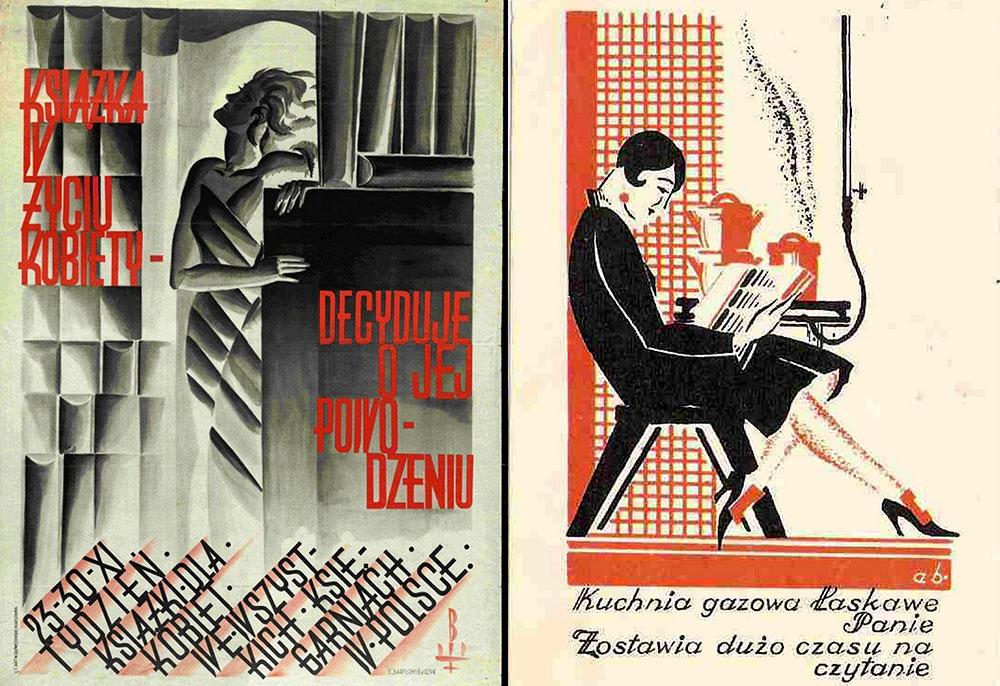 Reklamy promujące czytelnictwo, fot. materiały archiwalne