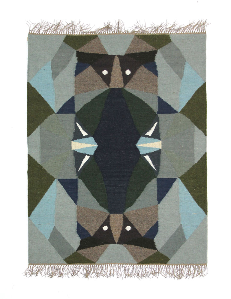 Forefathers' Eve rug, Kosmos Project, 2013, photo: courtesy of the Regional Museum in Stalowa Wola