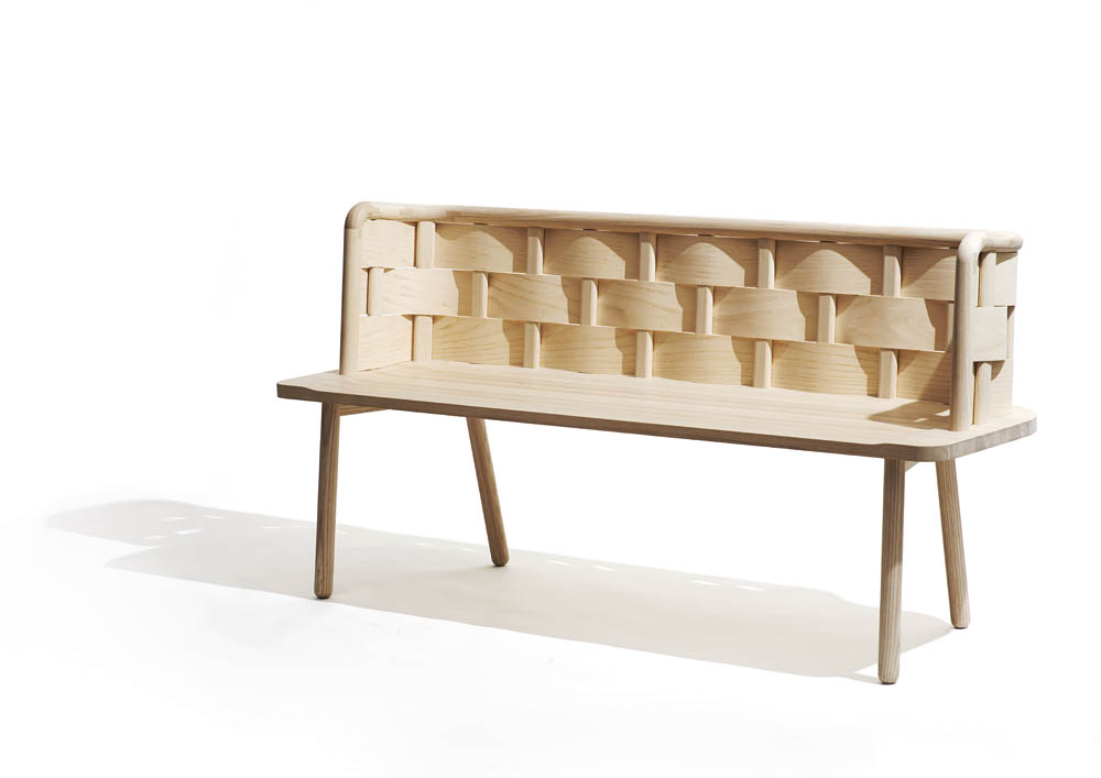 Bendy bench by Studio Fem, 2014, photo: courtesy of the Regional Museum in Stalowa Wola
