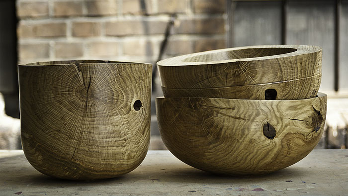 Wooden bowls by Giewont Studio