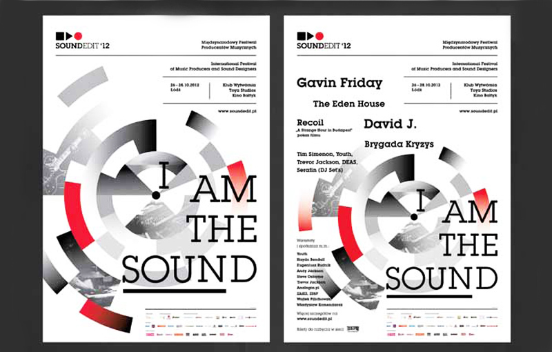 I am the sound, design Grafixpol