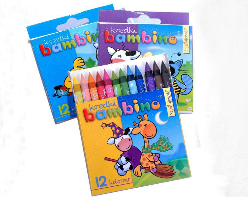 Bambino Crayons, photo: www.mojebambino.pl