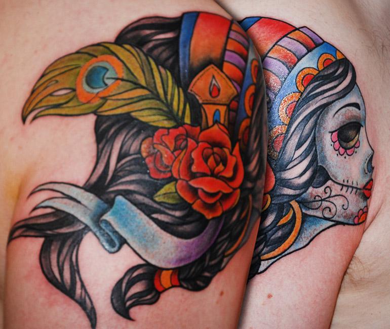 Tattoo by Novick, courtesy of the juniorink najgorsze studio w mieście