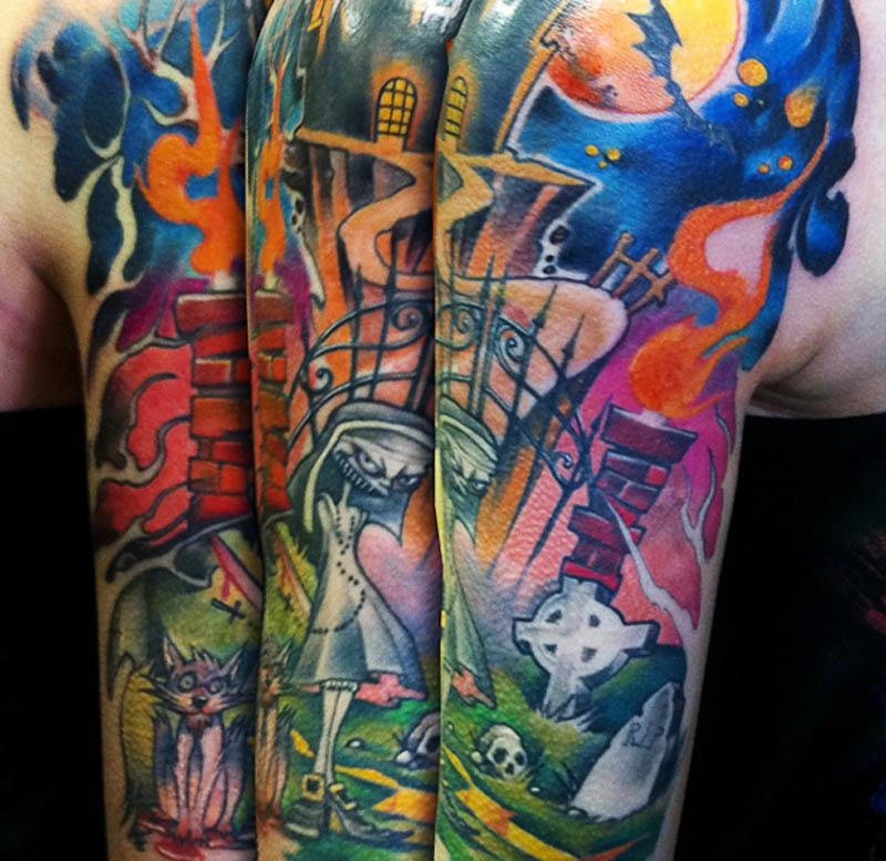 Tattoo by Marcin, courtesy of the juniorink najgorsze studio w mieście