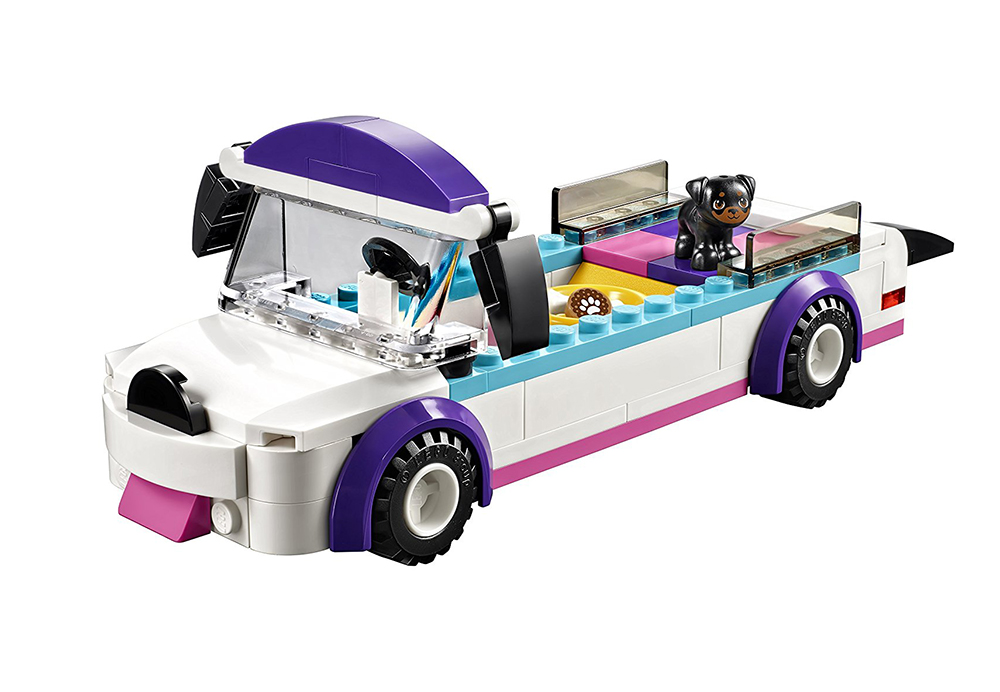Car from LEGO set 41301, Puppy Parade, designed by Ola Mirecka, 2016, photo: courtesy of the designer