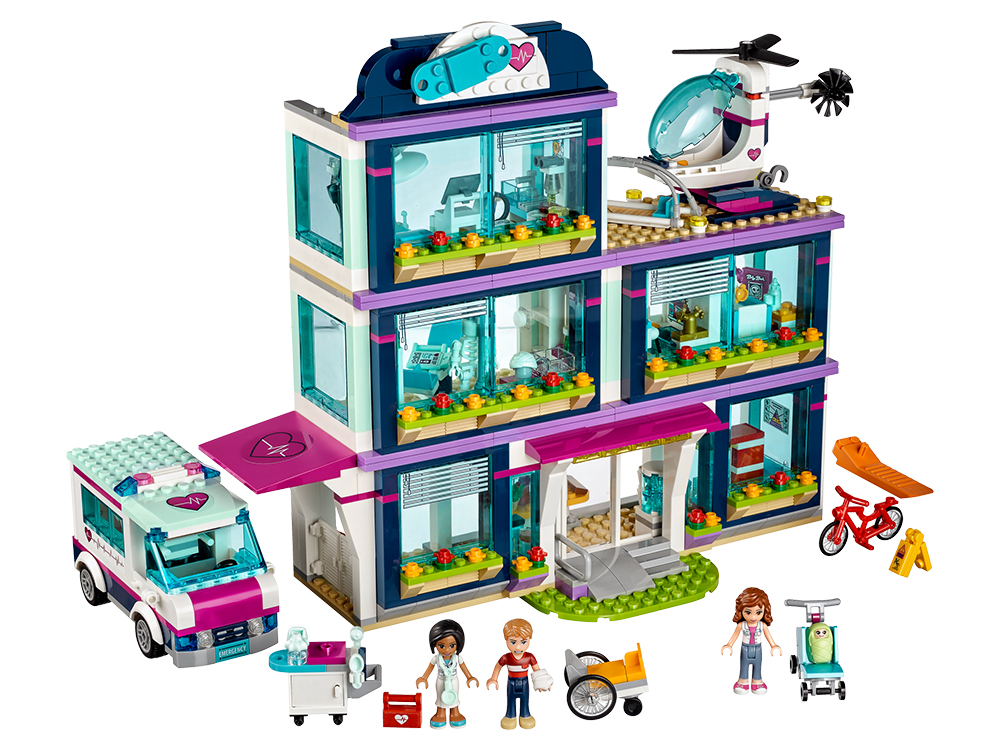 LEGO 41318, Heartlake Hospital, designed by Ola Mirecka, released in June 2017, photo: courtesy of the designer