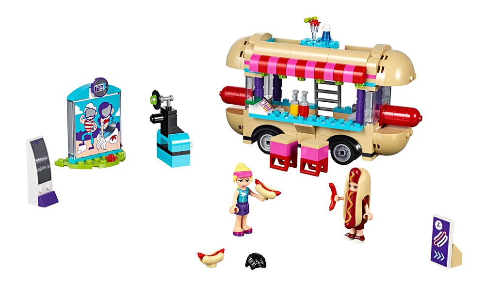 LEGO 41129, Amusement Park Hot Dog Van, designed by Ola Mirecka, released in June 2016, photo: courtesy of the designer