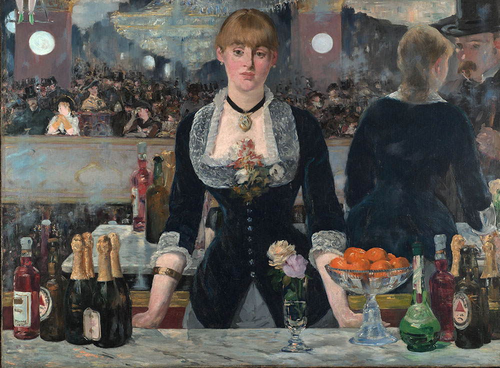 Édouard Manet, Bar at the Folies-Bergere, 1882, photo: Courtauld Institute of Art