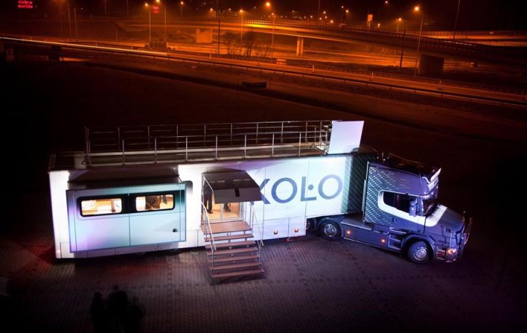 Cężarówki firmy Koło projekt: Janusz Kaniewski, fot. dzięki uprzejmości Janusz Kaniewski Design