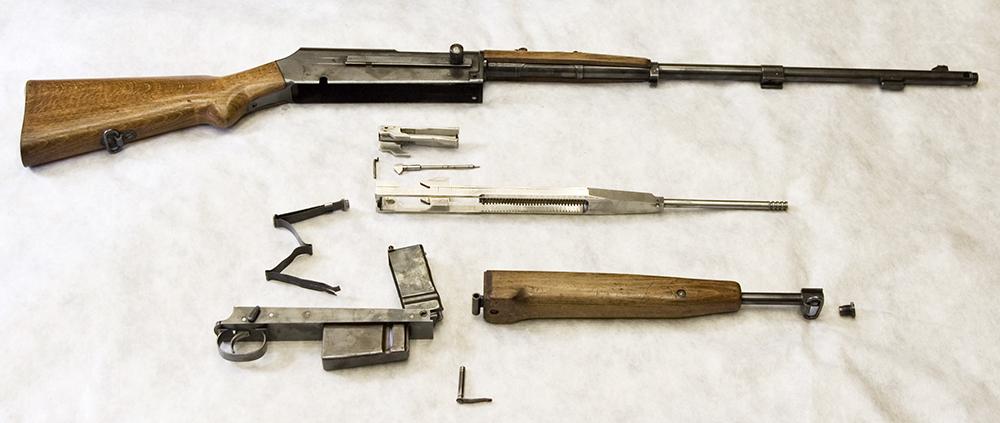 38M Semi-automatic rifle 'Maroszek', photo courtesy of the Polish Museum of History